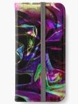 custodia per iPhone con tema astratto di colore arcobalen